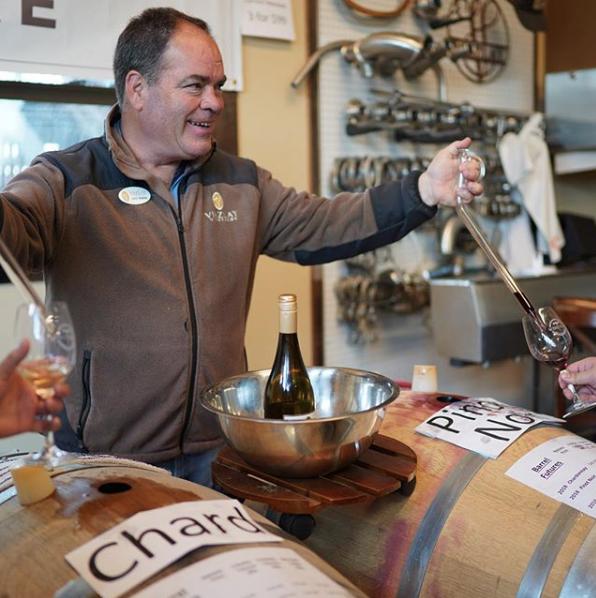Winemaker John Viszlay