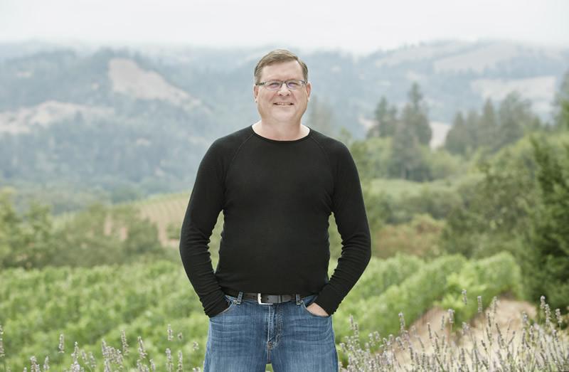 Winemaker Douglas Danielak Knights Bridge Winery