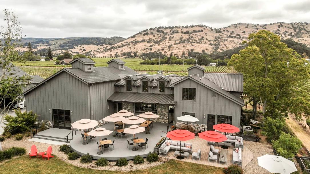 Goosecross Cellars Napa Valley wine tasting rooms