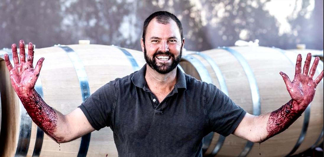 Winemaker Bill Nancarrow