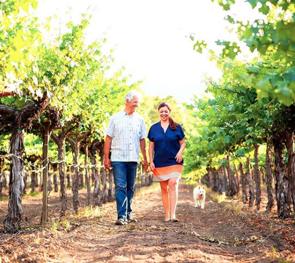 Hoopes Family Vineyard proprietors