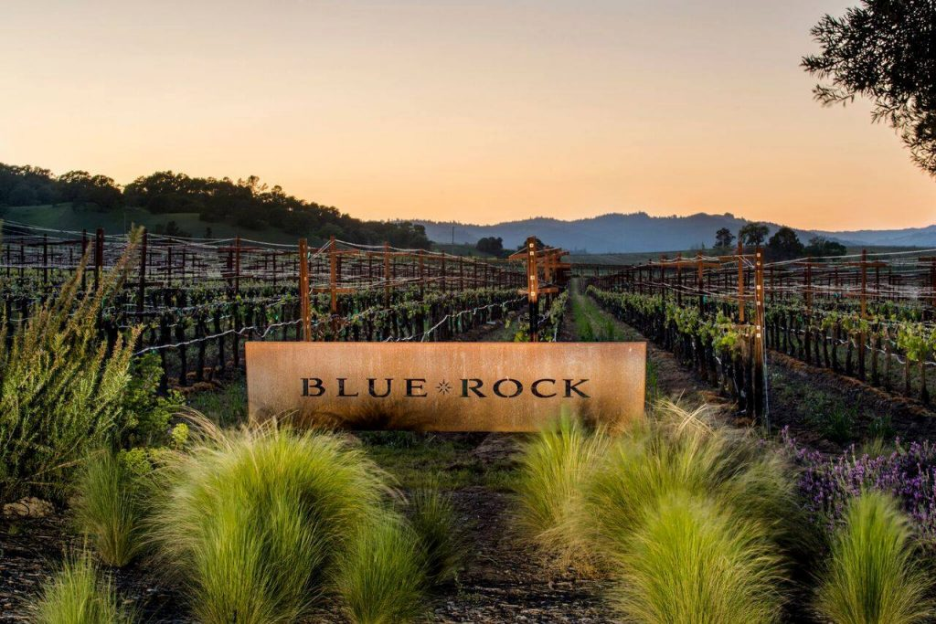 Blue Rock Vineyards Sonoma wine tasting