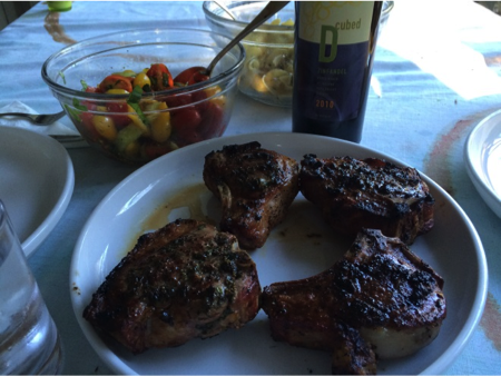 grilled lamb and wine pairings