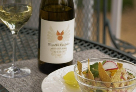 Tilapia Ceviche Pairing for Sauvignon Blanc