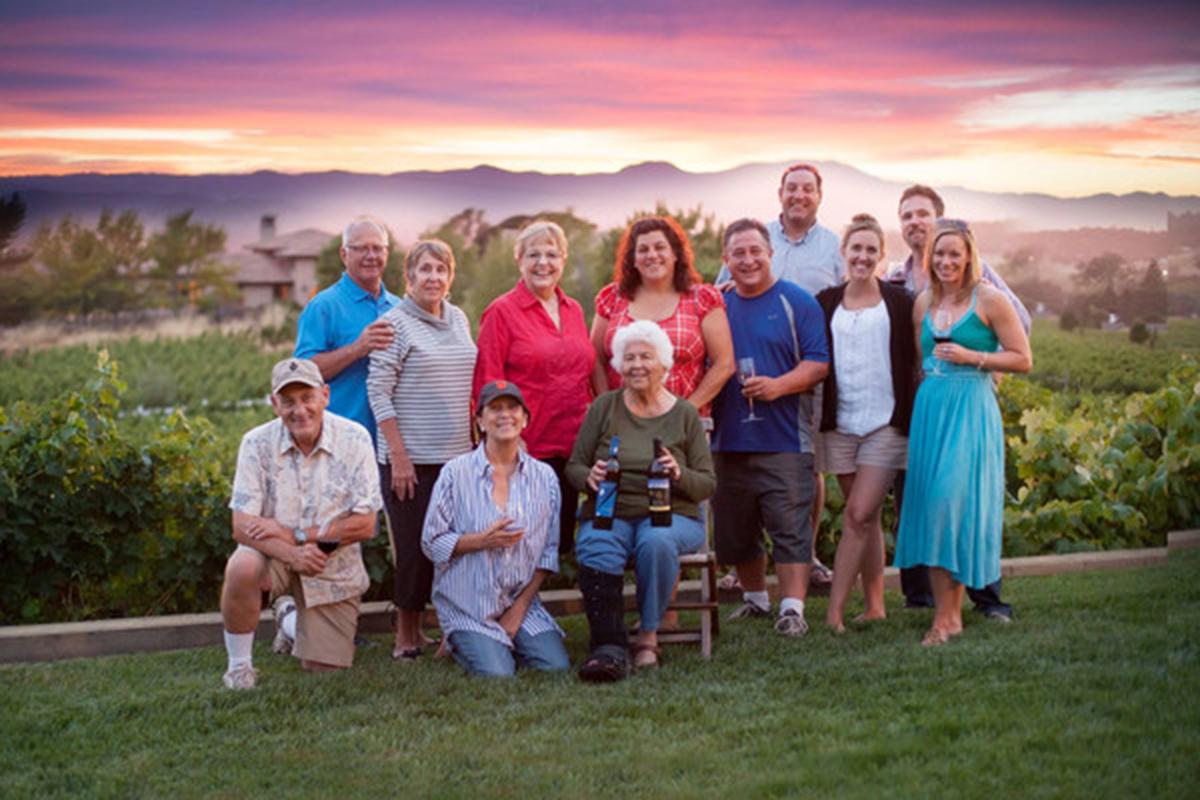 Sciandri Family Vineyards Napa Valley