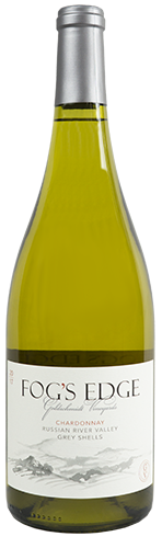 goldschmidt vineyards 2017 fog's edge chardonnay bottle shot