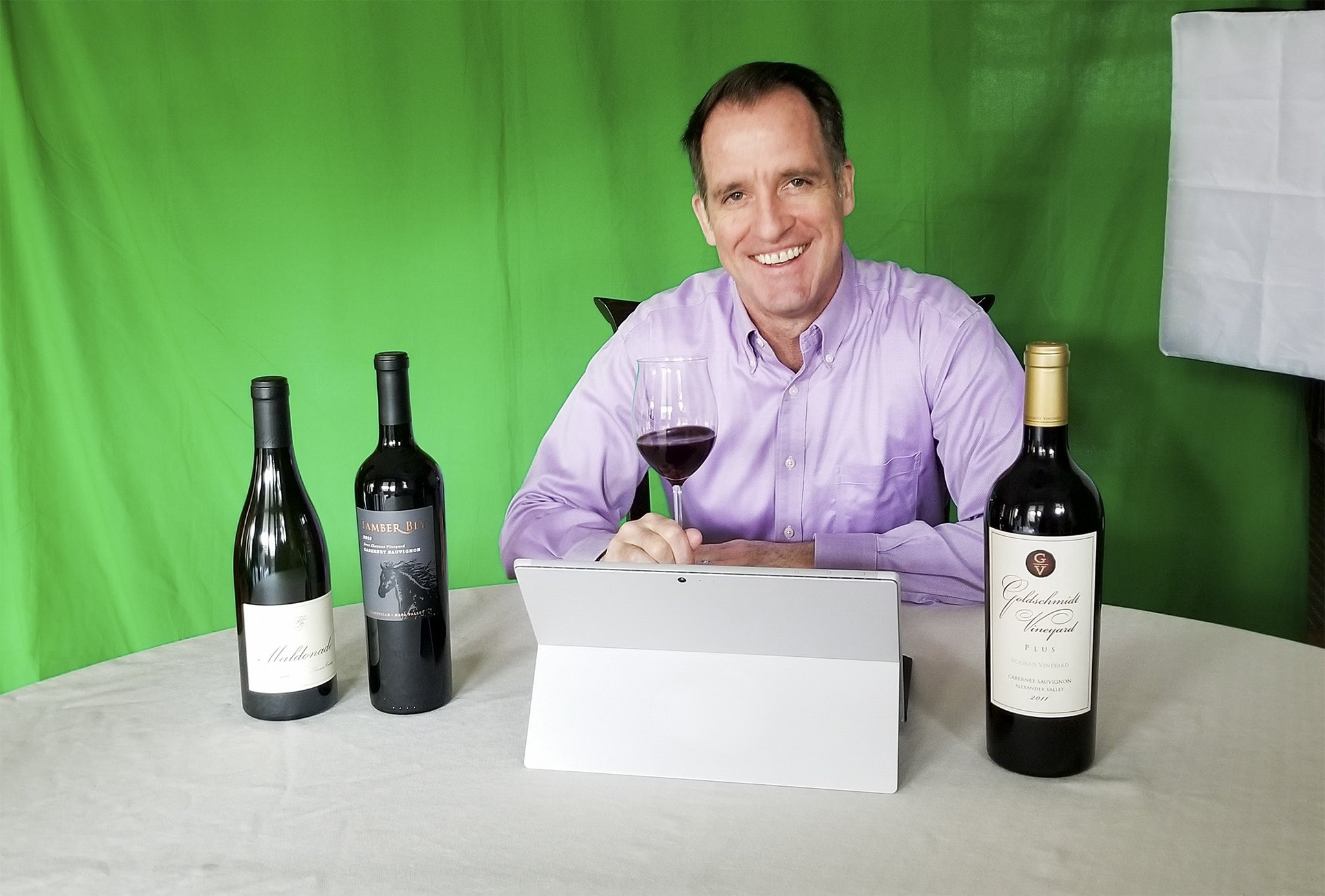 virtual wine events with winemakers