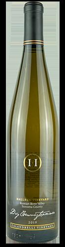 Halleck Vineyard 2019 Dry Gewurtztraminer